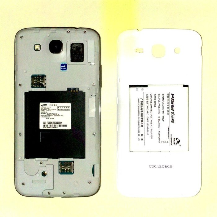 5Cgo【現貨】手機不開機可拆零件 三星GT-i9152 5.8吋原廠液晶良好 整機無摔含電池鋼化模 不幫忙維修 含稅