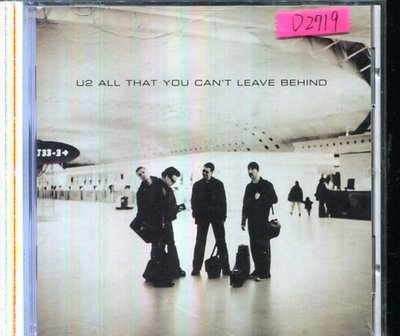 *還有唱片四館* U2 / ALL THAT YOU CAN'T LEAVE BEHIND 二手 D2719