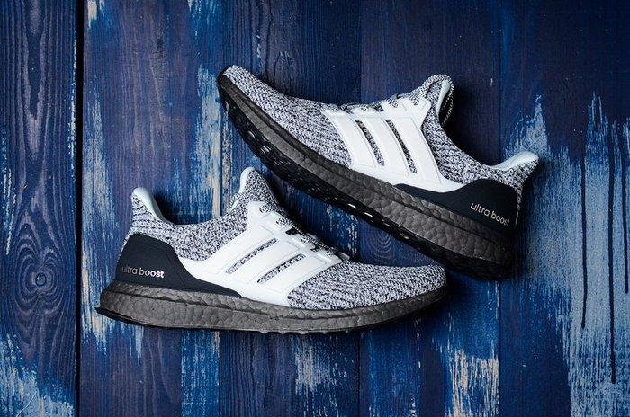 Adidas Ultra Boost4.0 灰黑雪花 編織 休閒慢跑鞋 男女鞋 BB6180