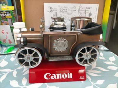 普普風早期日本製古董車造型打火機收納盒.老玩具,企業寶寶,老車,偉士牌,老東西,水水,型男,vintage參考