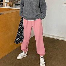 i-Mini 正韓|腰部抽繩鬆緊直壓紋縮口褲|5色‧ 韓國連線‧代購‧空運【02172832LY】