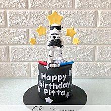 【Connie's Home Sweets】白兵生日蛋糕專門店 手工蛋糕 可造不同主題蛋糕 Star Wars Birthday Cake 3D cake