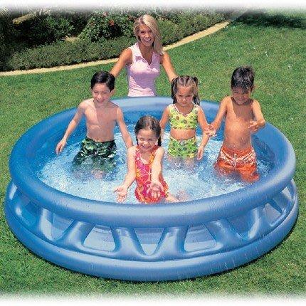 INTEX 飛碟泳池~軟邊戲水池~游泳池/球池◎童心玩具1館◎