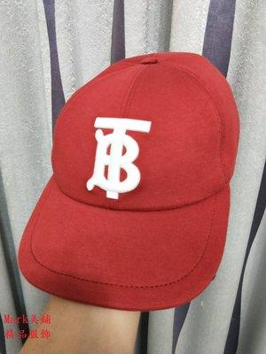 【Mark美鋪】BURBERRY 刺繡LOGO 休閒 棒球 帽