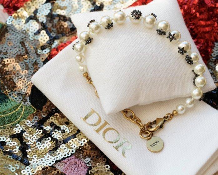 Dior Bracelet 珍珠星星水晶手鍊