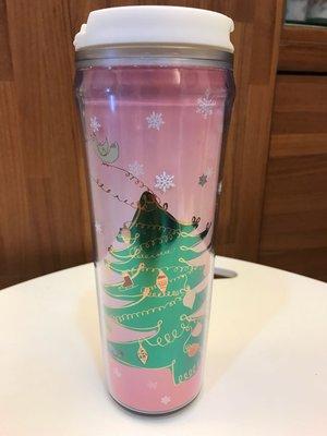星巴克 Starbucks 台灣 隨行杯 20oz 雪花 聖誕樹 聖誕限量 全新未使用