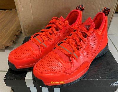 adidas Dame 1 橘紅 Q16932 Take On Summer 籃球鞋 US10