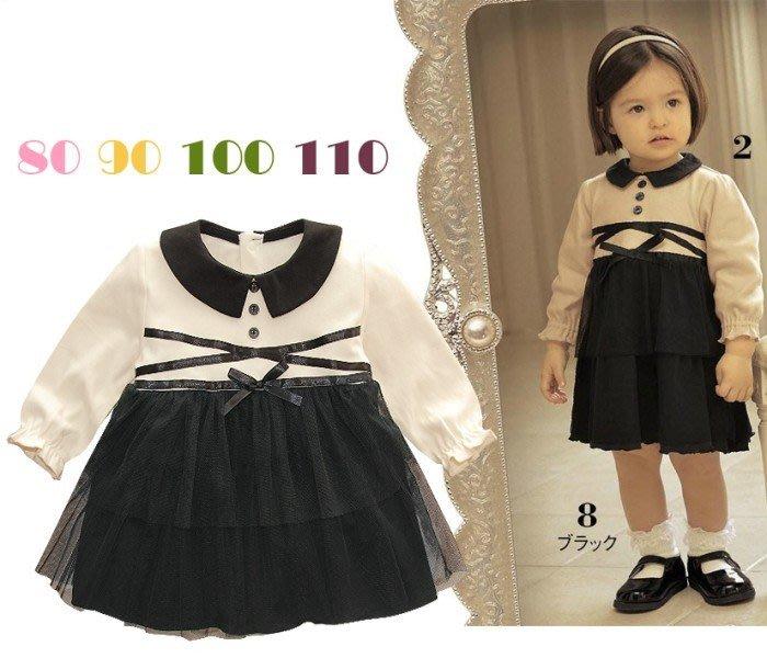 甜美《氣質紗裙款》長袖小洋裝 (J4-2)
