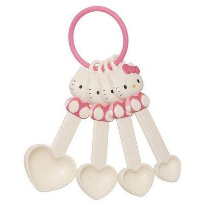 41+現貨不必等 日本製 Hello Kitty 坐姿 造型量匙 湯匙 廚房用品 量匙 小日尼三 my4165