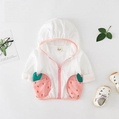 女童防曬衣 小寶寶衣服1歲棉質空調嬰兒夏裝透氣薄款外套女嬰幼兒0兒童防曬服AMSS