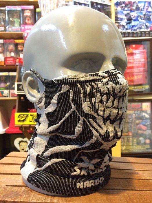Naroo Mask骷髏長版X5騎行運動 面罩 單車 哈雷 越野 滑胎 偉士 VESPA Cafe