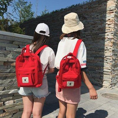 後背包 新款包包雙肩包書包女學生韓版校園清新大小號帆布休閒背包