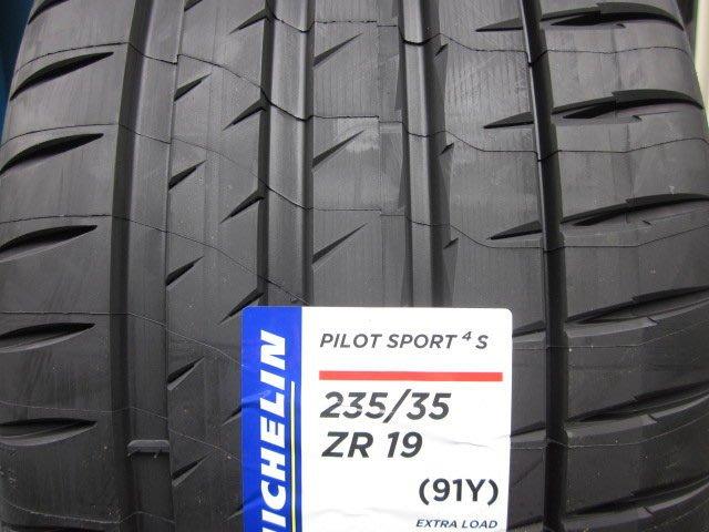 米其林michelin輪胎ps4s 235/35/19 6800/完工265/30/19 pzero sc6 固特異bs