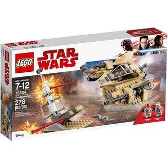 【小瓶子的雜貨小舖】LEGO 樂高積木 星際大戰系列-沙地飛艇 LT-75204【小瓶子的雜貨小舖】