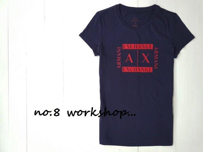 T☆【A/X女生館】☆【ARMANI LOGO印圖短袖T恤】☆【AXG003L3】(XS-S-M-L)原價1599 6/10到貨