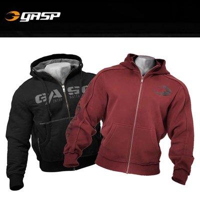 蜜桃健身館GASP衛衣肌肉健身狗兄弟運動男連帽套頭衫訓練服長袖上衣外套寬松