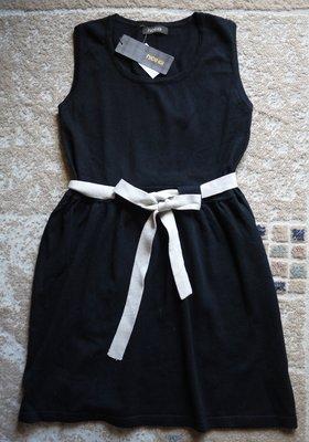 全新品, NICE IOI 黑色削肩針織洋, 附綁帶, 賣場另有IROO, ZARA等