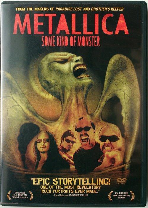 2DVD/ Metallica - Some Kind Of Monster 二手澳版