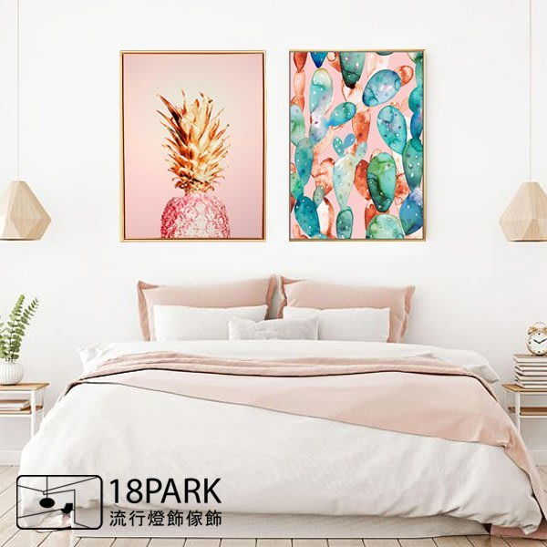 【18Park 】精緻細膩  cactus [ 畫說-仙人掌印影60*80cm ]