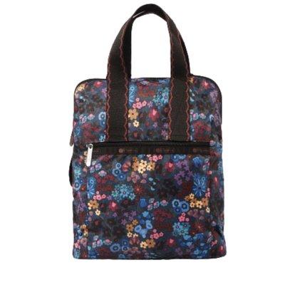 免運 全新 Lesportsac 保證台灣專櫃正品 日常後背包 手提包 購物包 購物袋 艾莉絲花園 可放A4 後背包 書包
