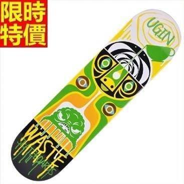 滑板 戶外用品-經典個性插畫極限運動蛇板3色66ah37[獨家進口][米蘭精品]