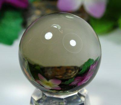 孟宸水晶 = A9021  (100%天然超清透茶水晶球138克)