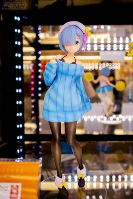 東京都-日本TAITO景品 Re:從零開始的異世界生活 雷姆 針織連衣裙  高約23公分 日版 現貨