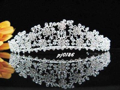 結婚飾物;髮飾;新娘婚禮頭飾;新娘飾物;婚禮皇冠; BRIDE BAND;BRIDAL HEADPIECE;WEDDING TIARA COMB#186