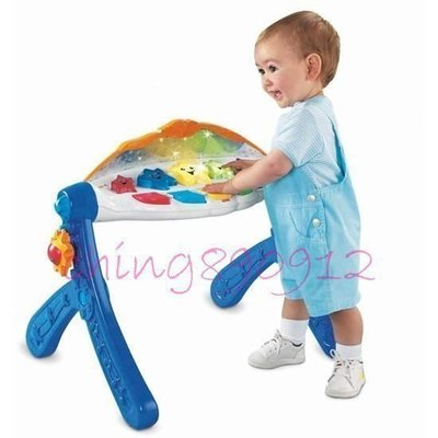 ♪♫瑋瑋城堡✲玩具出租♪♫ (二手出售)費雪 古典樂章聲光健身器