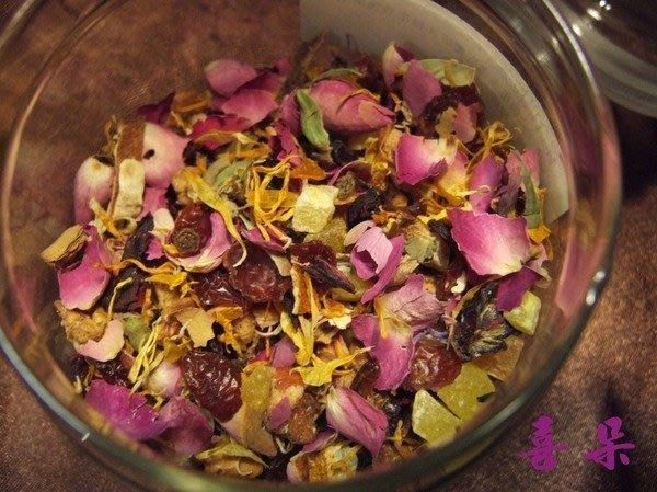 喜朵飲品專業批發~德國果粒茶系列.**綜合花果茶* 內含玫瑰花.金盞花特別針對女性設計配方芳香好喝