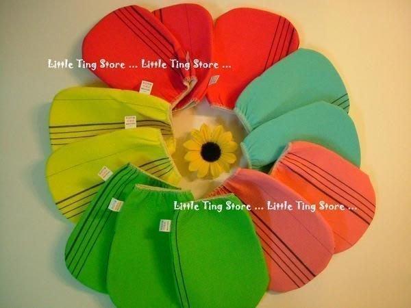 Little Ting Store:韓國去角質手套(無指)&(五指手套)韓國美白肌膚的秘密武器 50元