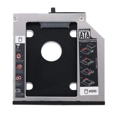 Lenovo 聯想 完美版 Serial UltraBay Slim 9.5mm SATA 第二顆硬碟轉接盒 T400 T410 T420s T430S 桃園市