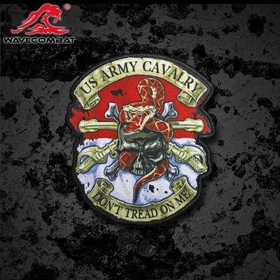 US ARMY CAVALRY  超精細章 魔術貼 士氣章