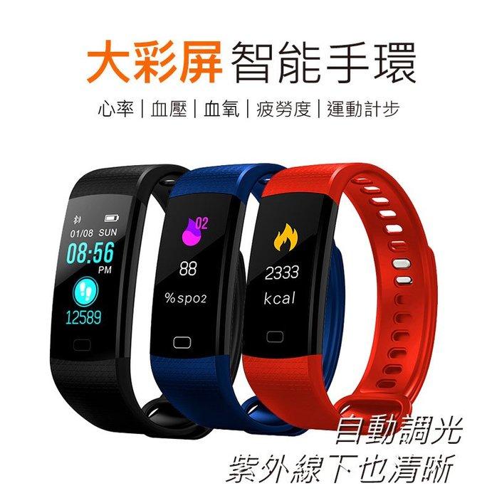 R1 彩屏心律智能手環 運動手環 新率量測 血壓量測
