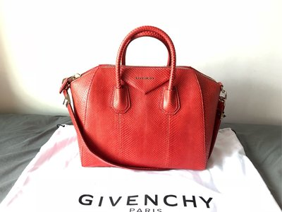 GIVENCHY - 100% PYTHON ANTIGONA Medium bag (Brand New)