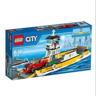 【樂GO】LEGO 樂高  60119 CITY 城市系列 渡船 原廠正版