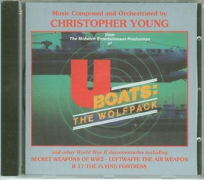 """""""U-Boats:The Wolfpack""""- Christopher Young(19),全新歐版"""