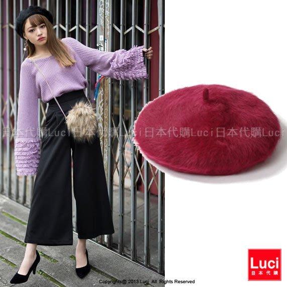 帽子  畫家帽 貝雷帽  英倫風軟帽  毛帽 日雜款   LUCI日本代購[lp060q]