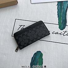 Melia 米莉亞代購 COACH 專櫃出清 限時特價 眾多商品不用1000 男款 長夾 皮夾 附名片夾 包裝齊全 格紋