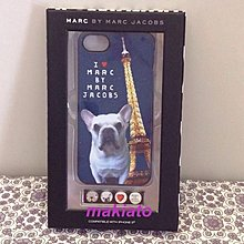 現貨出清~小小牛瑪奇朵MARC BY MARC JACOBS iPhone 5 / 5S法國鬥牛犬系列手機套/手機殼