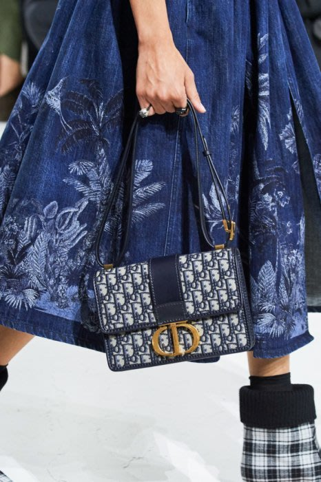 Dior Dioraddict Flap 迪奧 秋冬新款 牛仔藍