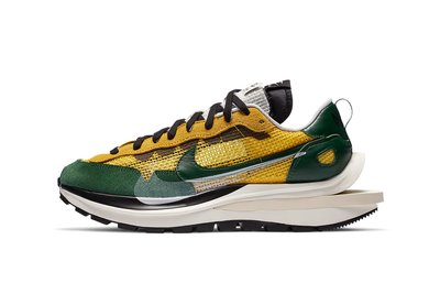 沃皮斯§ sacai x Nike VaporWaffle 黃綠 CV1363-700