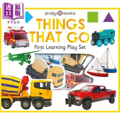 First Learning Play Set 啟蒙學習玩樂組 公共交通 Things That Go 低幼英語單詞認知