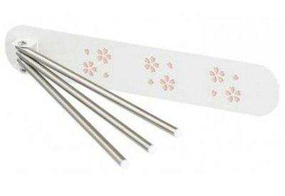 天使熊雜貨小舖~日本帶回櫻花造型 磁吸式 抹布曬乾架  日本製  ~全新現貨~