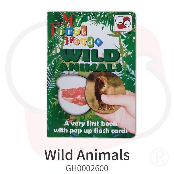 桌遊趣【KIDDY KIDDO】Wild Animals(童書) 三五好友 聚會 同樂 益智遊戲 淺能開發 寓教於樂