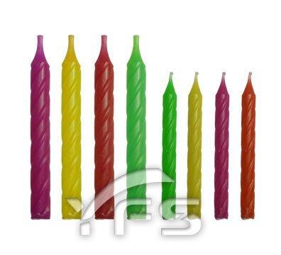 大小條蠟 (生日蠟燭/慶生蠟燭/彩虹蠟燭/宴會蠟燭/蛋糕蠟燭/喜宴)