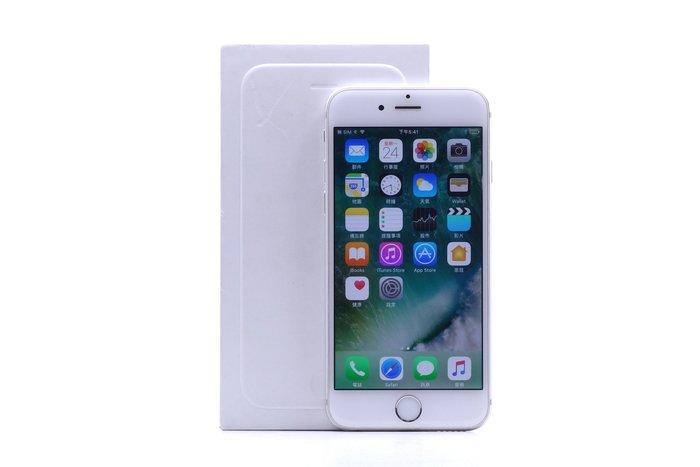 【台中青蘋果競標】Apple iPhone 6 銀 64G 二手 4.7吋 蘋果手機 瑕疵機出售 #15110