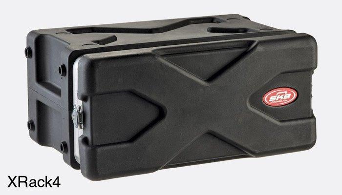 《民風樂府》美國 SKB XRACK4 4U 纖維機櫃箱 器材箱 全新品公司貨 現貨在庫
