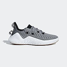 ADIDAS GREY ALPHABOUNCE TRAINING SNEAKER - US 9
