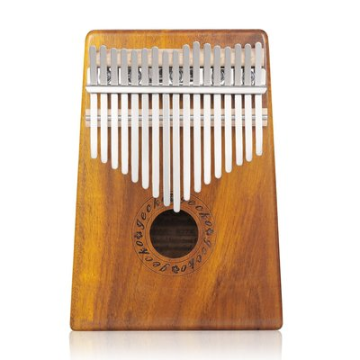 【華邑樂器38902】GECKO 17音卡林巴琴-相思木 (附琴袋/琴譜/說明書 拇指琴 克林手指鋼琴kalimba)